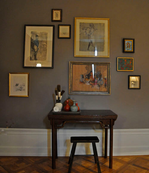 Kristin Mullen Designs Helen Study salon