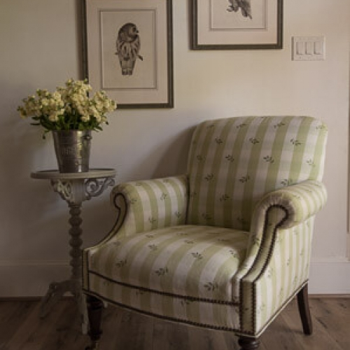 Kristin Mullen Designs Lister chair vignette