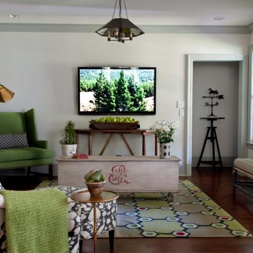 Kristin Mullen Designs Palmer living room