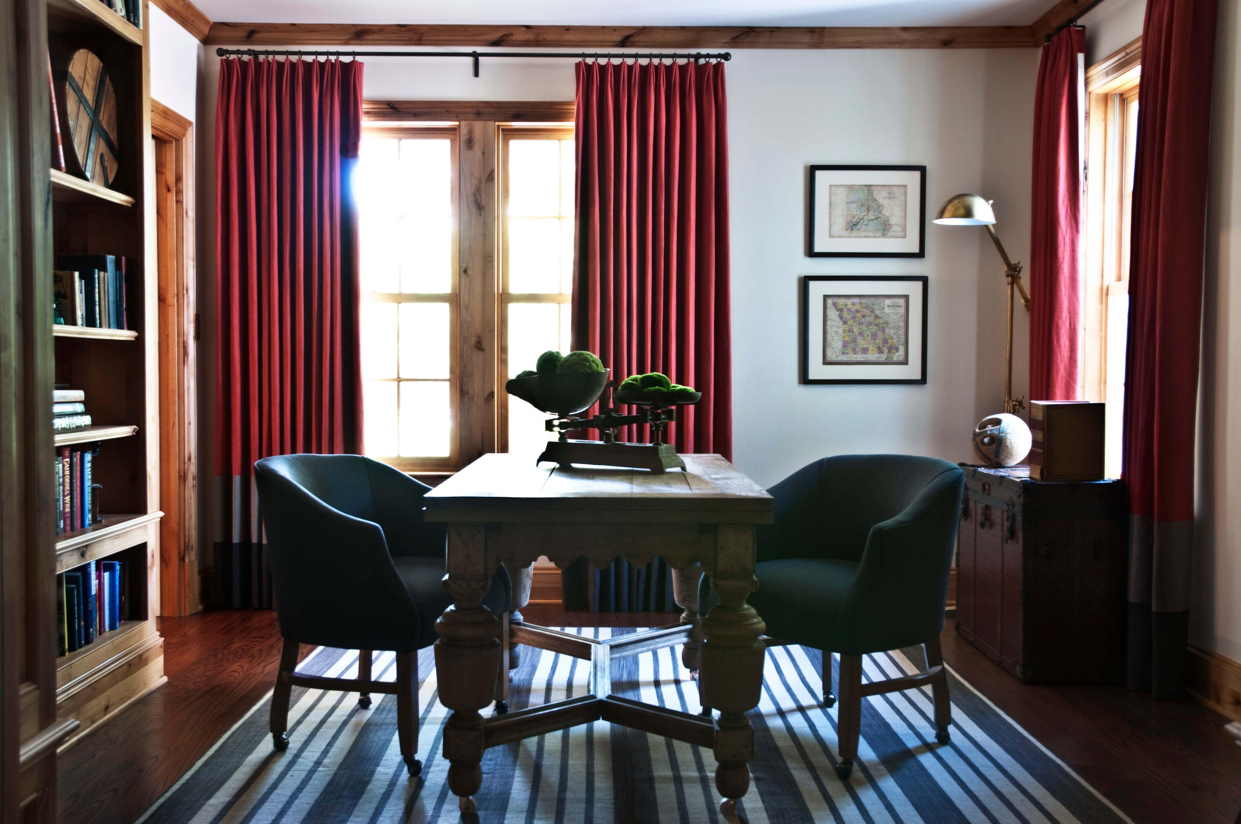 Kristin Mullen Designs Palmer study area